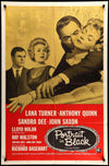 Movie Poster - Portrait in Black (1960)  - Original Film Art - Vintage Movie Posters