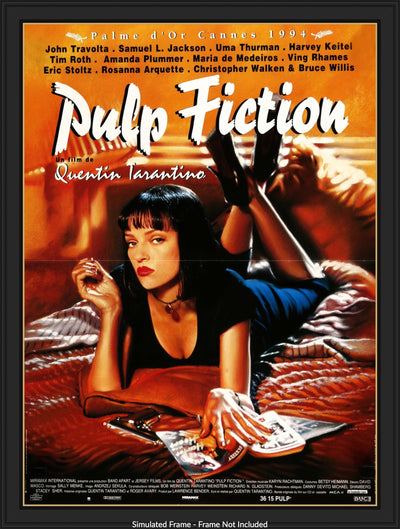 Movie Poster - Pulp Fiction (1994)  - Original Film Art - Vintage Movie Posters