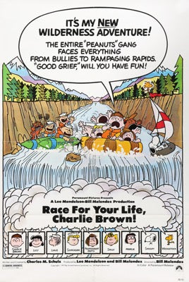Race for Your Life, Charlie Brown (1977)