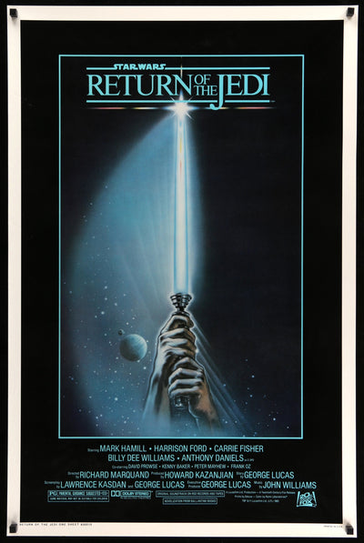 Movie Poster - Return of the Jedi (1983)  - Original Film Art - Vintage Movie Posters
