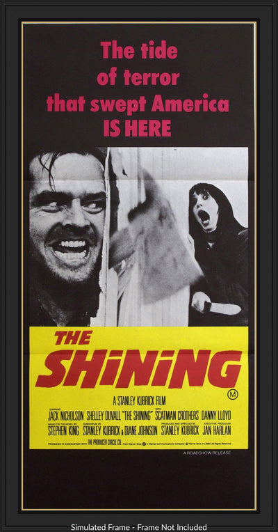 Movie Poster - Shining (1980)  - Original Film Art - Vintage Movie Posters