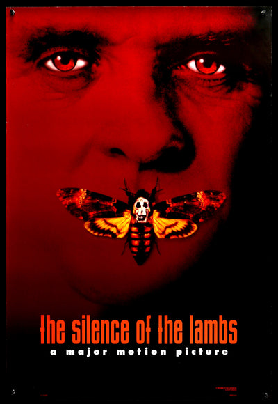 Movie Poster - Silence of the Lambs (1991)  - Original Film Art - Vintage Movie Posters