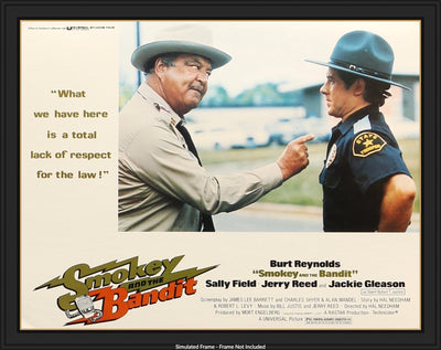 Movie Poster - Smokey and the Bandit (1977)  - Original Film Art - Vintage Movie Posters