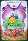 Movie Poster - Snow White and the Seven Dwarfs (1937)  - Original Film Art - Vintage Movie Posters