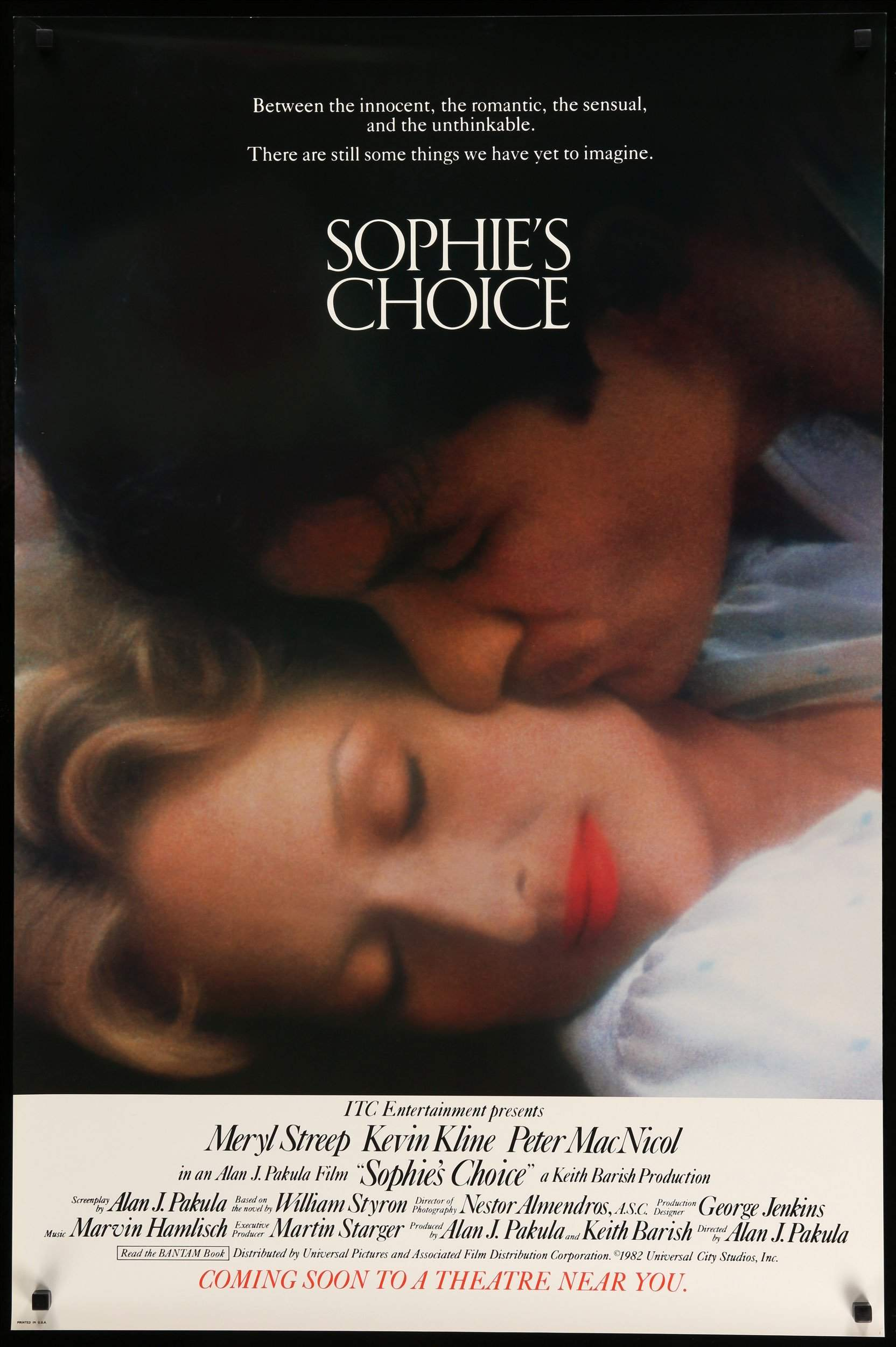 Image result for sophie's choice movie poster