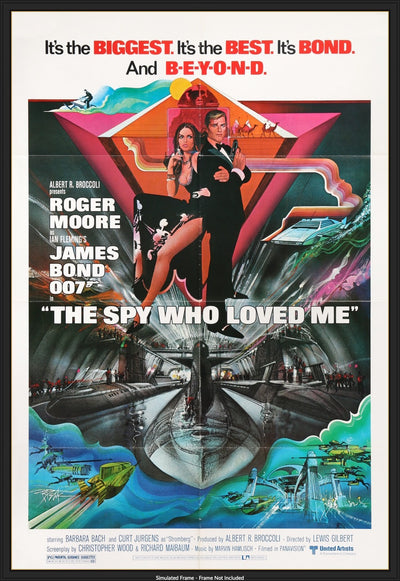 Movie Poster - Spy Who Loved Me (1977)  - Original Film Art - Vintage Movie Posters