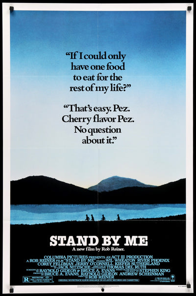 Movie Poster - Stand By Me (1986)  - Original Film Art - Vintage Movie Posters