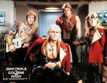 Star Trek II: The Wrath of Khan (1982) Lobby Cards - Set of 10