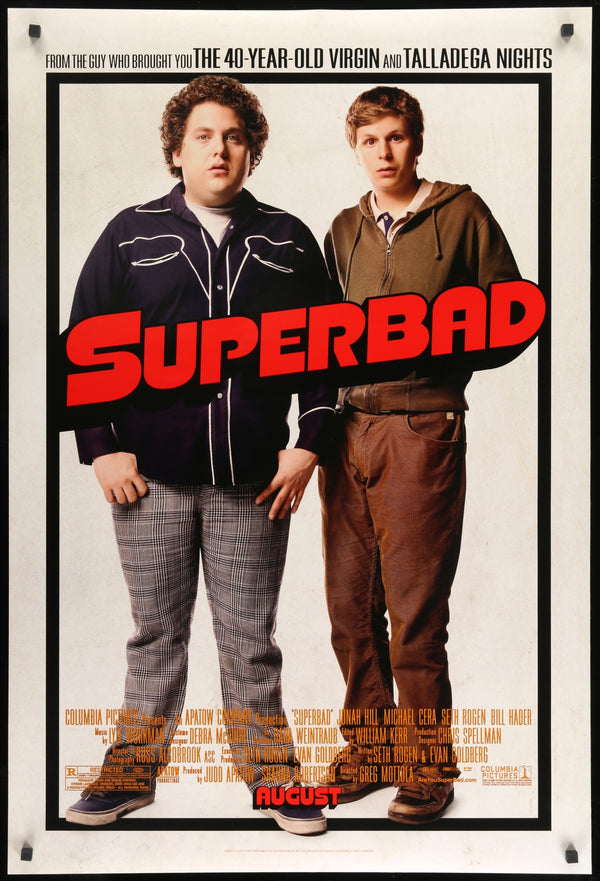 Superbad 2007 One Sheet Movie Poster Original Film Art Vintage Movie Posters
