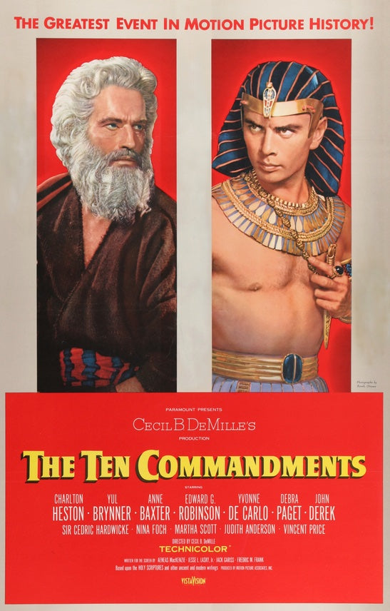Ten Commandments (1956)