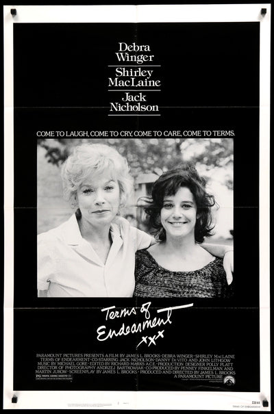 Movie Poster - Terms of Endearment (1983)  - Original Film Art - Vintage Movie Posters