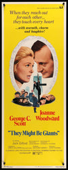 Movie Poster - They Might Be Giants (1971)  - Original Film Art - Vintage Movie Posters