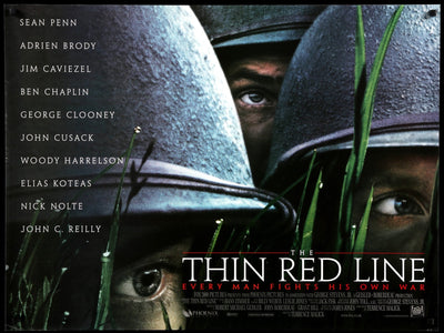 Movie Poster - Thin Red Line (1998)  - Original Film Art - Vintage Movie Posters