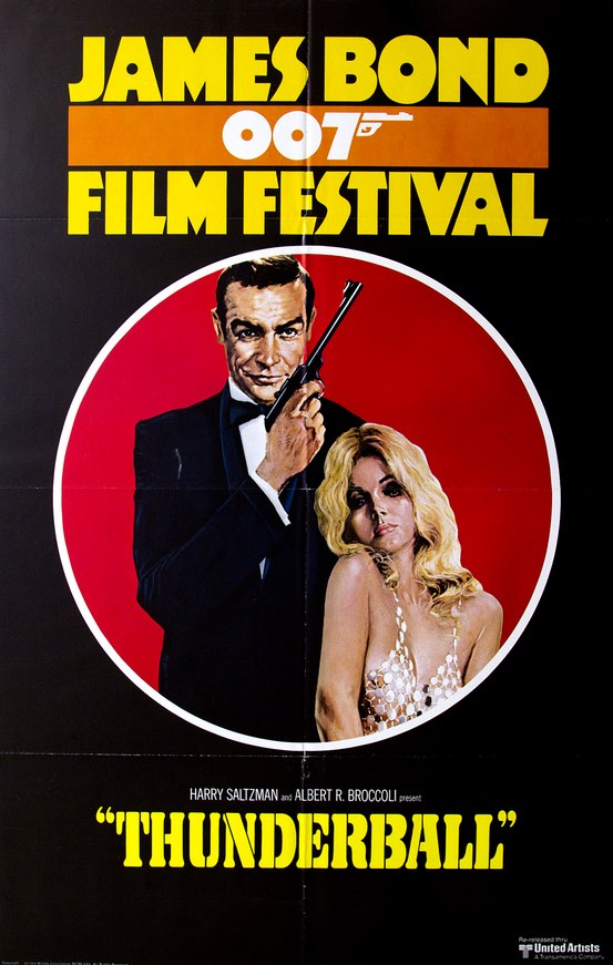 James Bond 007 Film Festival - Thunderball (1975)