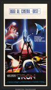 Movie Poster - Tron (1982)  - Original Film Art - Vintage Movie Posters