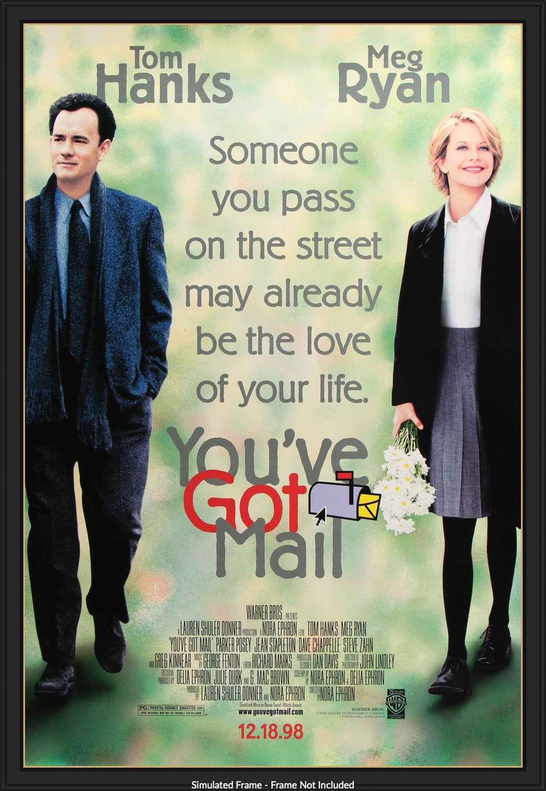 You've Got Mail (1998) Original One-Sheet Movie Poster - Original Film Art  - Vintage Movie Posters