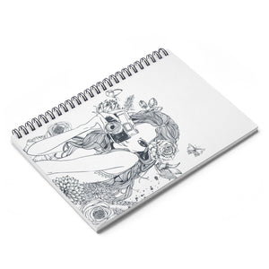 Camera Girl - Spiral Notebook - Ruled Line - Fashionista Style