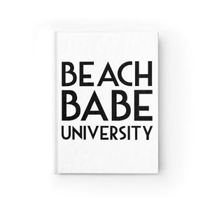 Beach Babe University Journal - Ruled Line - Fashionista Style