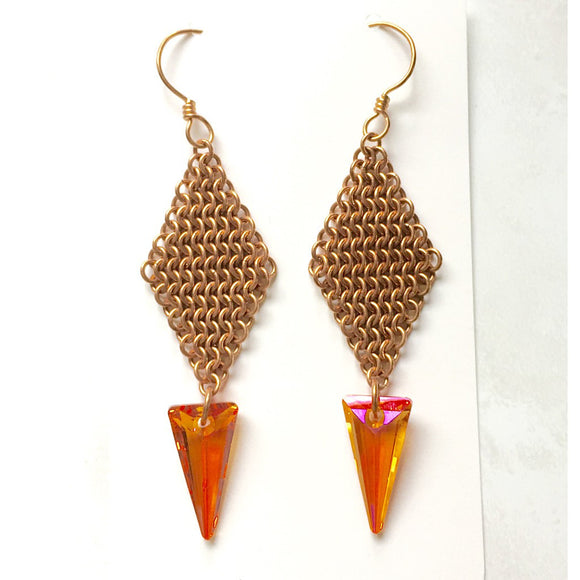 European 4-in-1 Spike Earrings - Fashionista Style