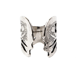 Silver Angel Wings Ring - Fashionista Style