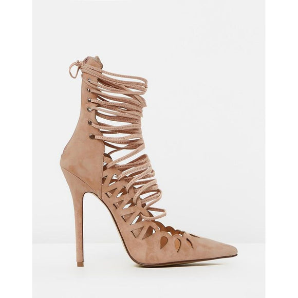 The Breanna Blush Suede By SBB The Label - Fashionista Style