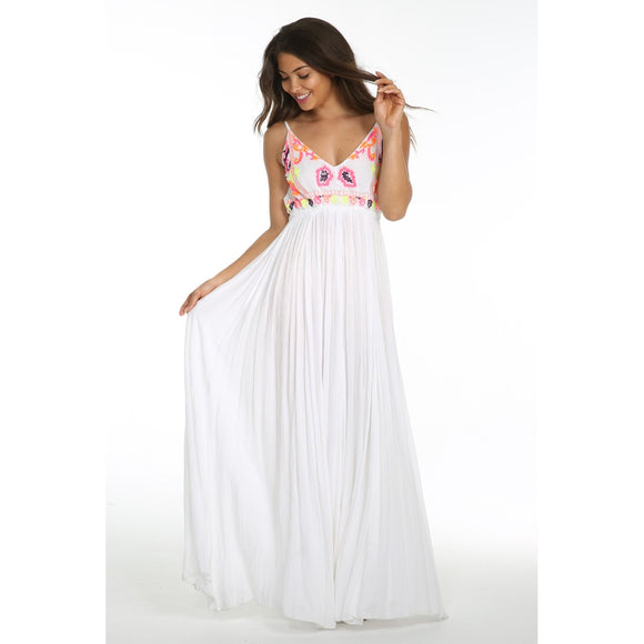 SUNSET CANYON BACKLESS MAXI - Fashionista Style