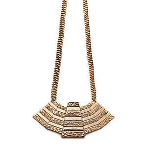 Five Pyramid Necklace - Fashionista Style