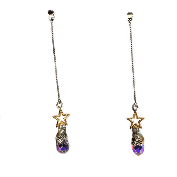 Faro Star Swarovski Earrings - Fashionista Style