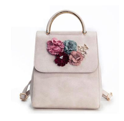 In Full Bloom Floral Backpack - Fashionista Style