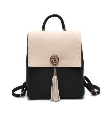 An Elegant Affair Tassel Backpack - Fashionista Style