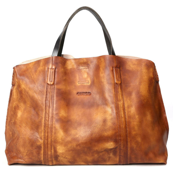 Forest Island Leather Tote - Fashionista Style