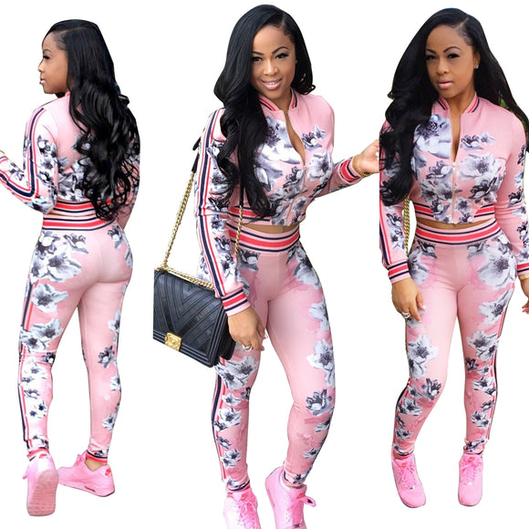 Pixie Pink Tracksuit Set - Fashionista Style
