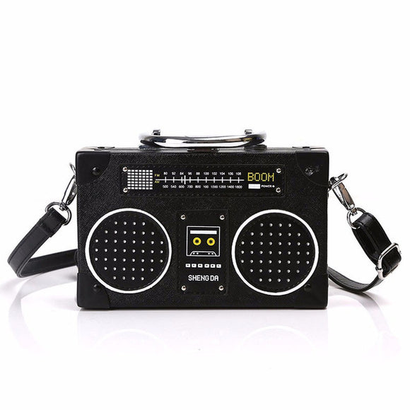 Beat It Radio Retro Vintage Shoulder Bag - Fashionista Style