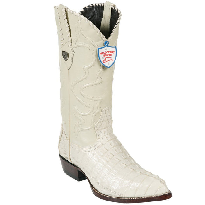 Bota Piel Caiman Cola Puntal WW-2990104 - Wild West Boots