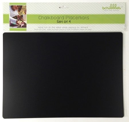 Flexi Chalkboard Placemats-Set of 4 - Dixieland Monogram