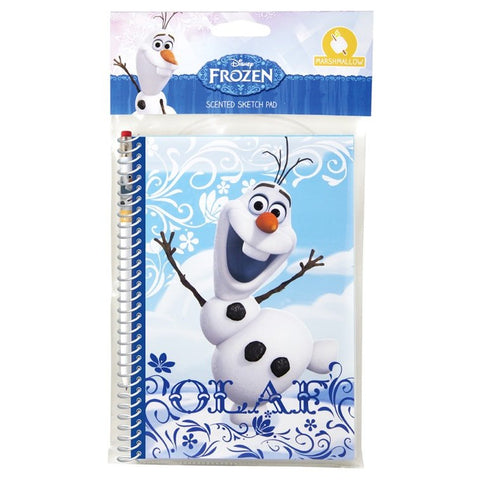 Olaf Frozen Scented Sketch Pad and Pen - Dixieland Monogram