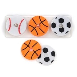 Chewbeads Baby Stackable Play Set-Sports - Dixieland Monogram