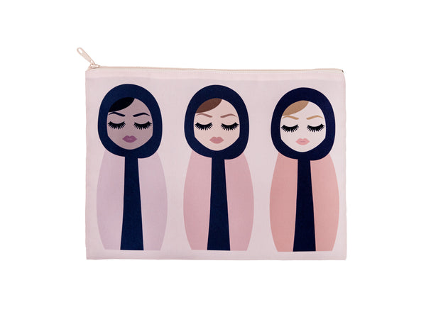 Jumbo ladies pouch