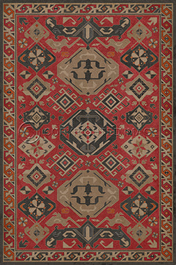Spicher & Company Williamsburg Traditional All Spice Vinyl Floor Cover