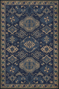 Spicher & Company Williamsburg Traditional Nankeen Vinyl Floor Cover