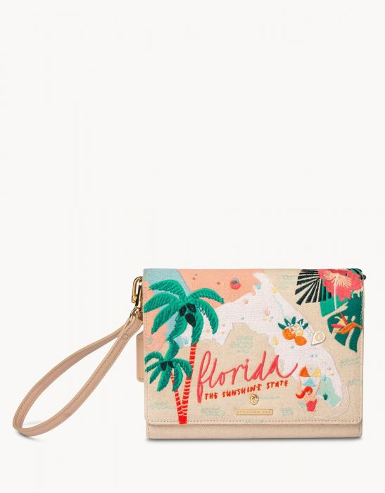 Spartina Florida Embroidered Convertible Crossbody