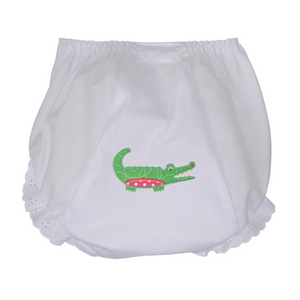3 Marthas Pink Gator Bloomers Small