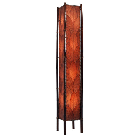 Eangee Fortune Series Large Floor Lamp Brown