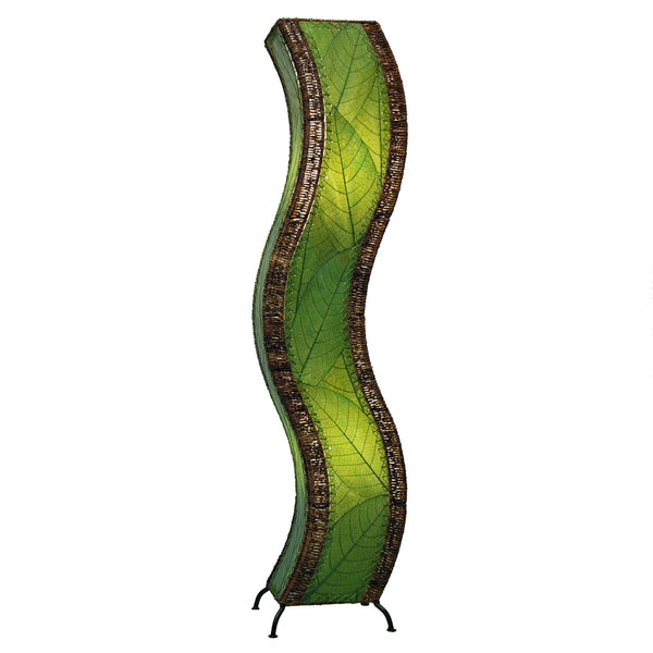 Eangee Wave Series Floor Lamp Green