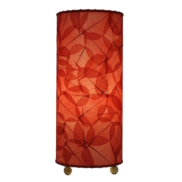 Eangee Banyan Table Lamp Red