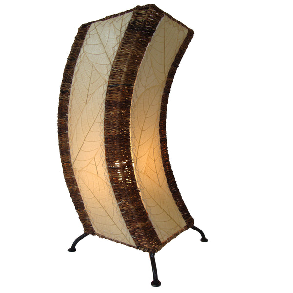 Eangee Wave Series C Table Lamp Natural