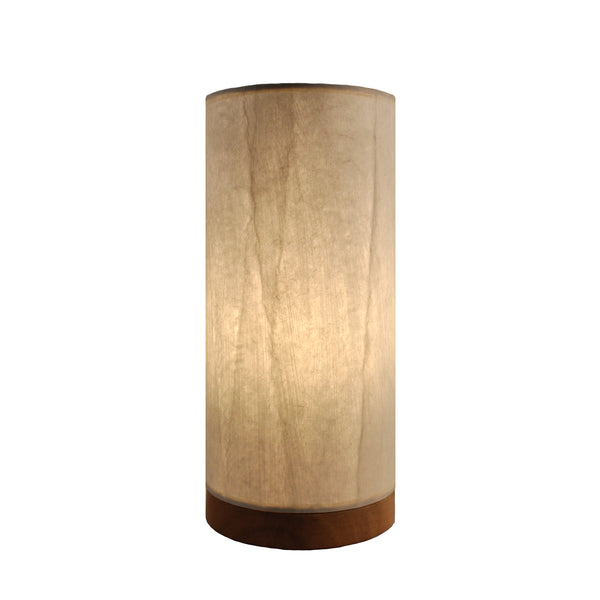 Eangee Table Lamp Paper Cylinder Off White