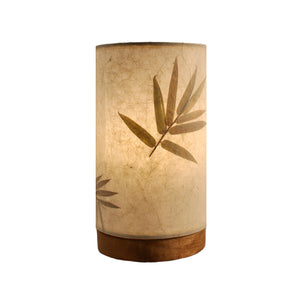 Eangee Mini Lamp Paper Cylinder Tan