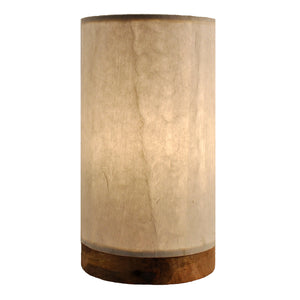 Eangee Mini Lamp Paper Cylinder Off White