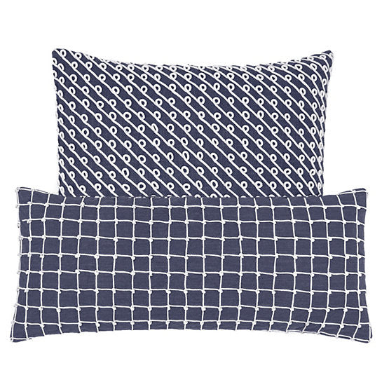 Pine Cone Hill Chadna Indigo Decorative Pillow
